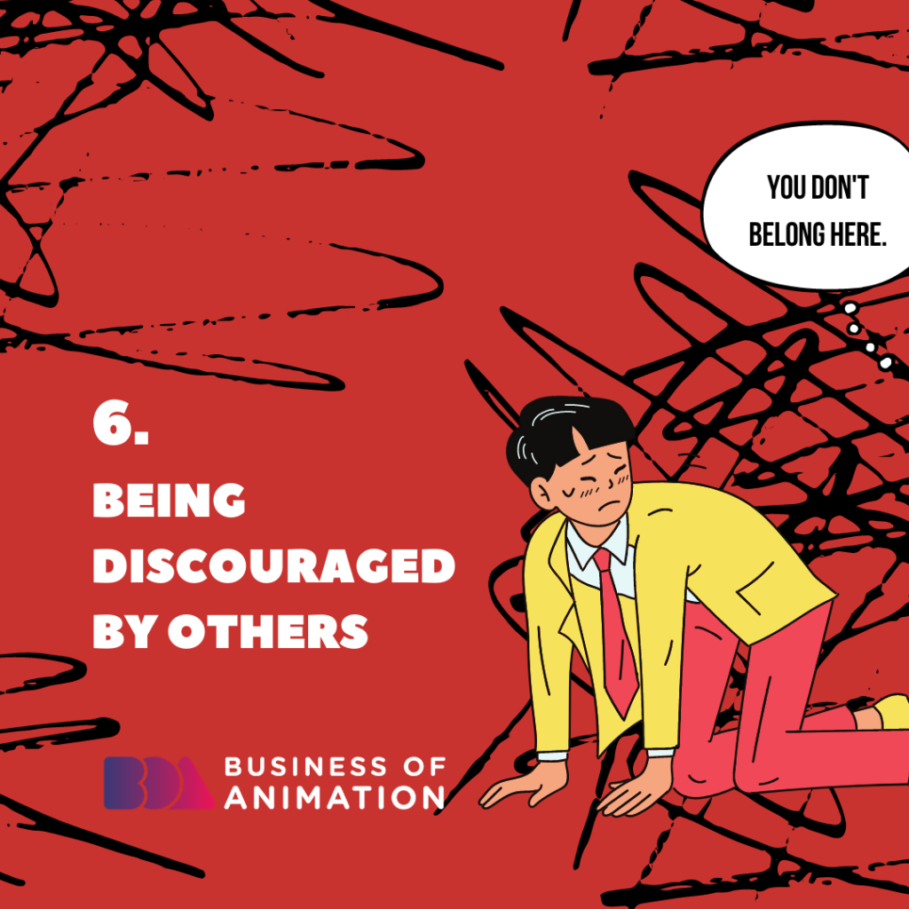 Being Discouraged by Others
