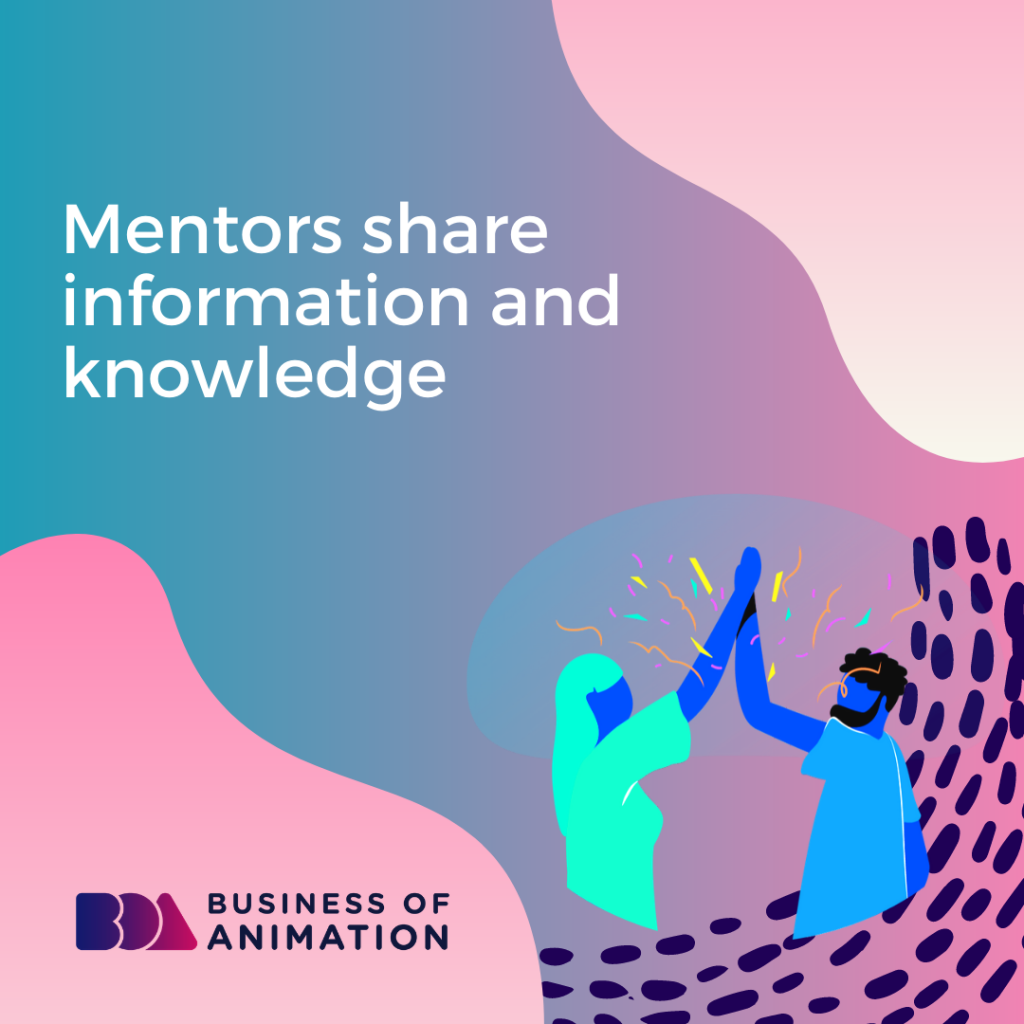 Mentors Share Information and Knowledge