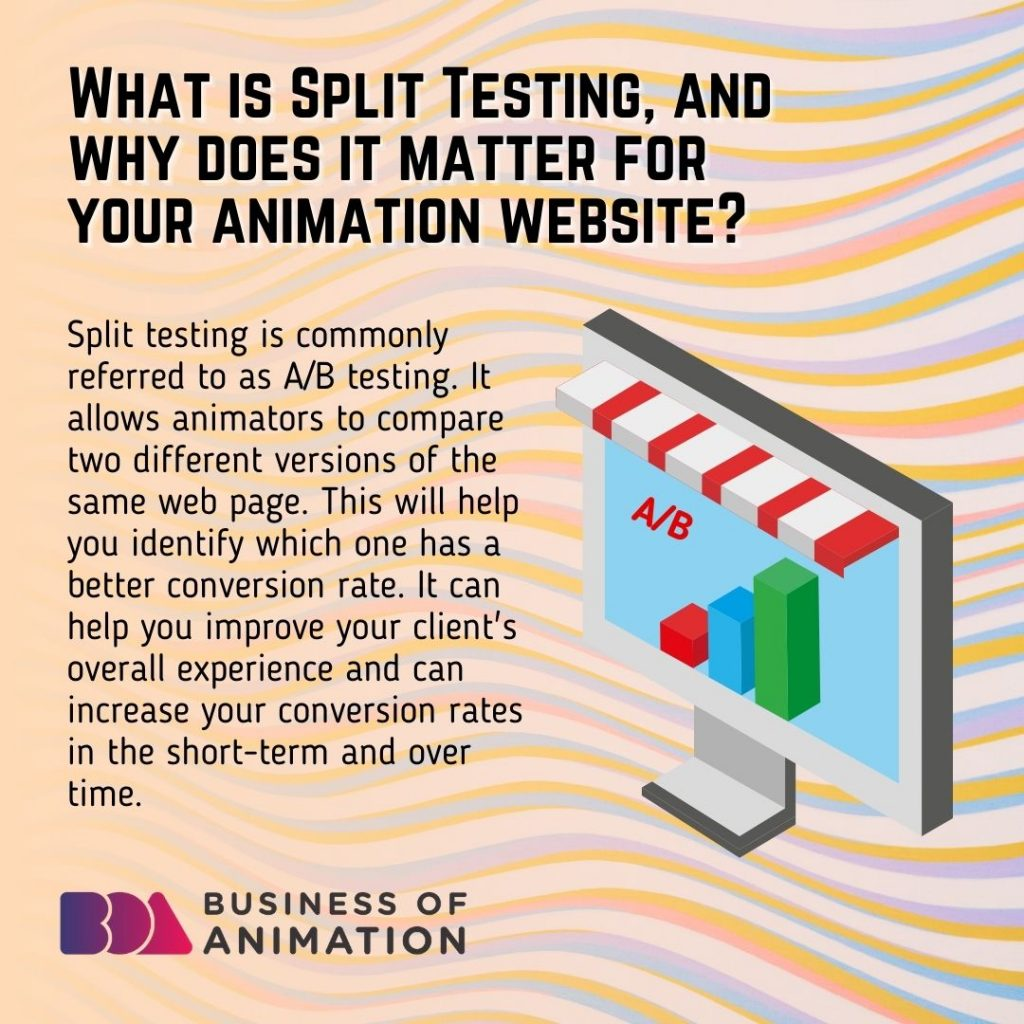 What Is Split Testing and Why Does It Matter for Your Animation Website?