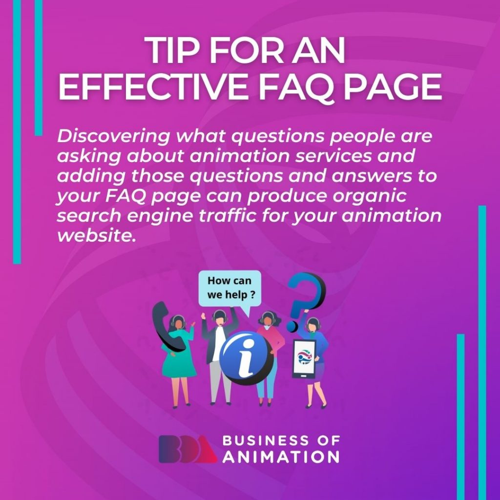 Tip For An Effective FAQ Page