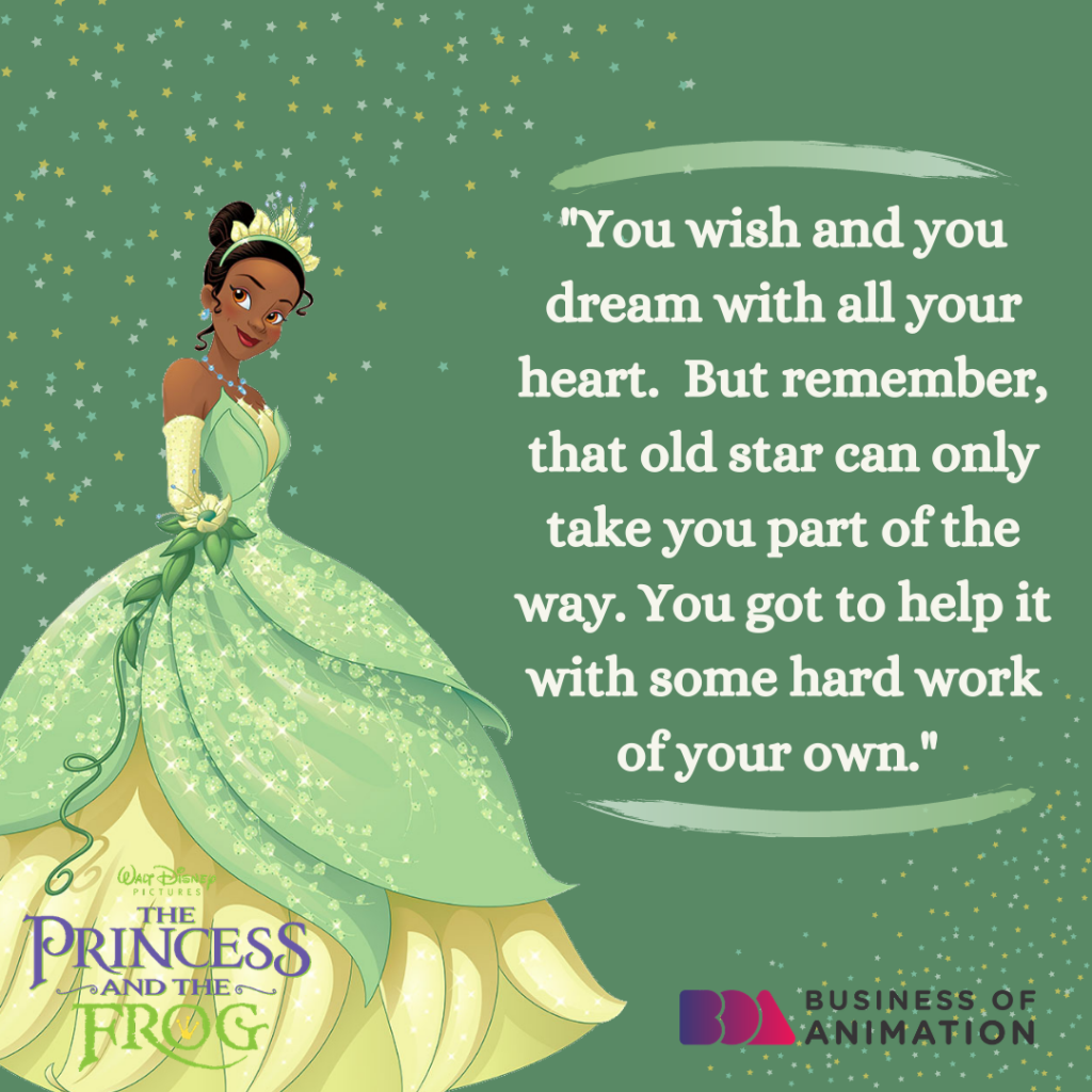Quote from The Princess and the Frog