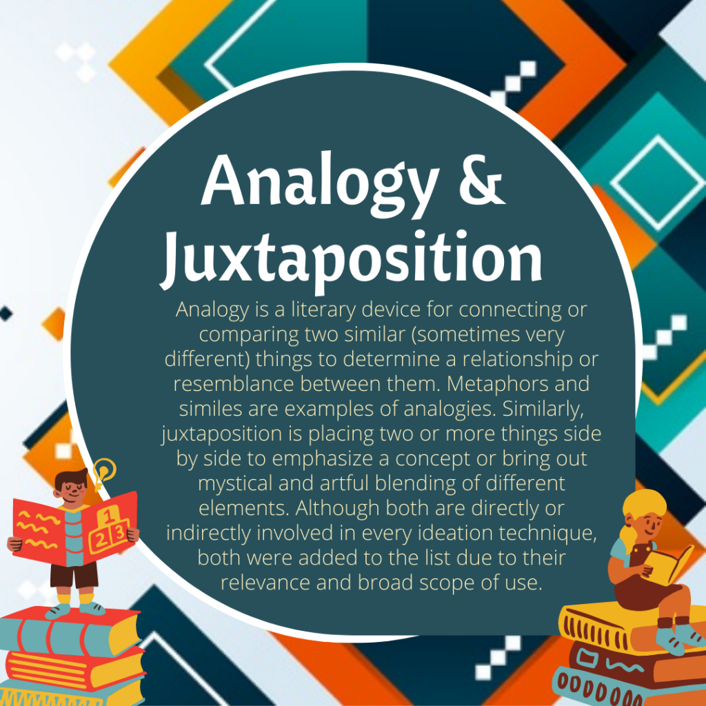 Analogy and Juxtaposition
