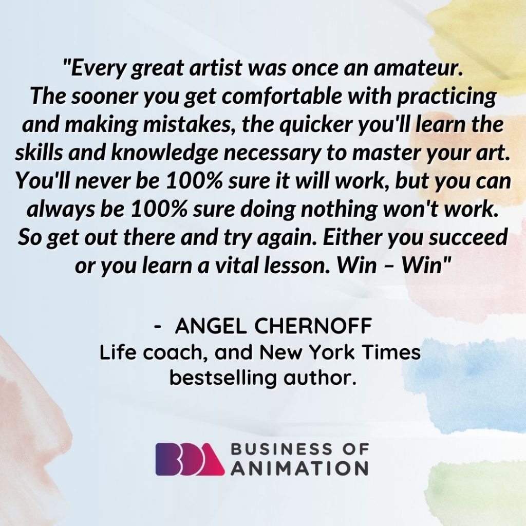 Inspirational Quote From Angel Chernoff