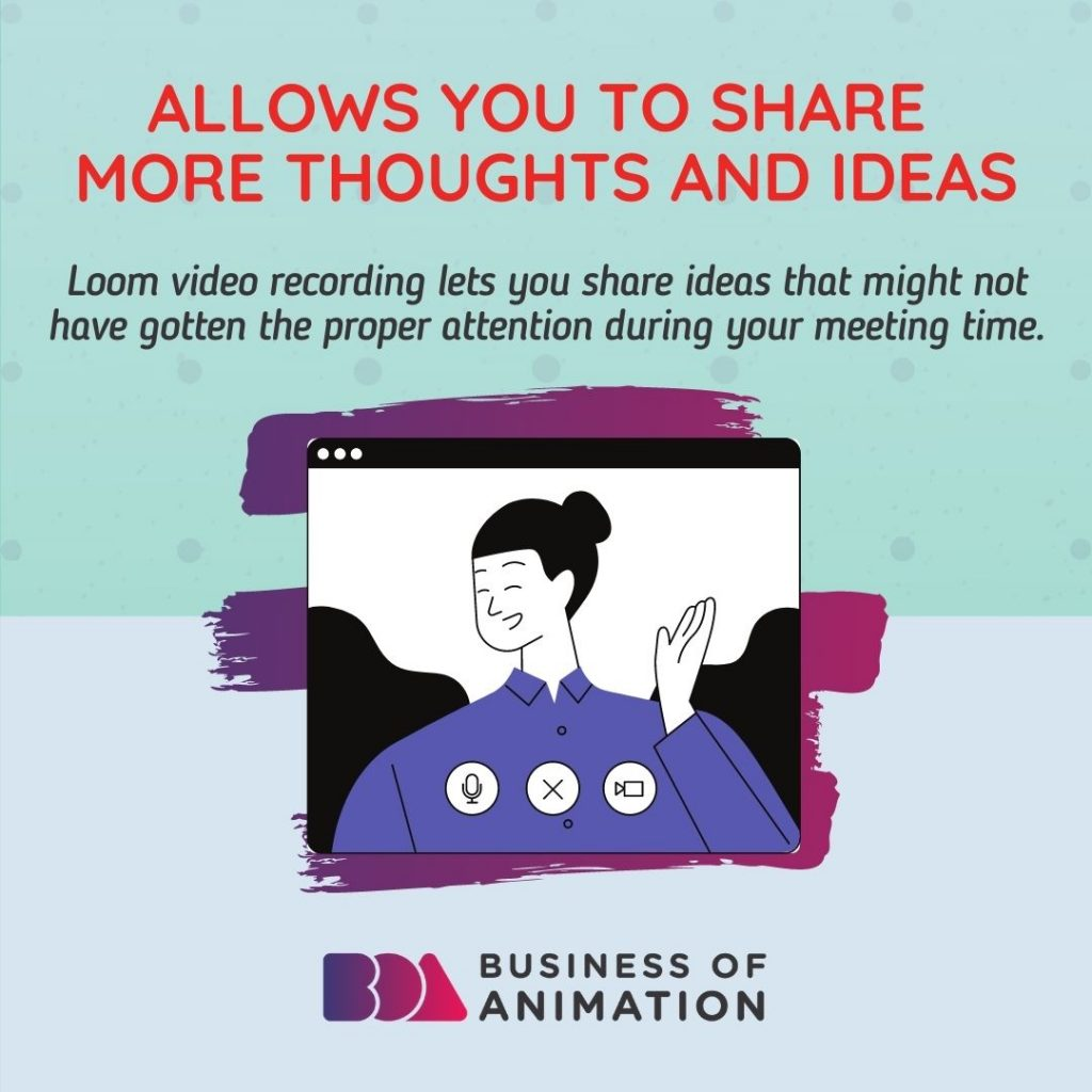 Allows you to share more thoughts and ideas