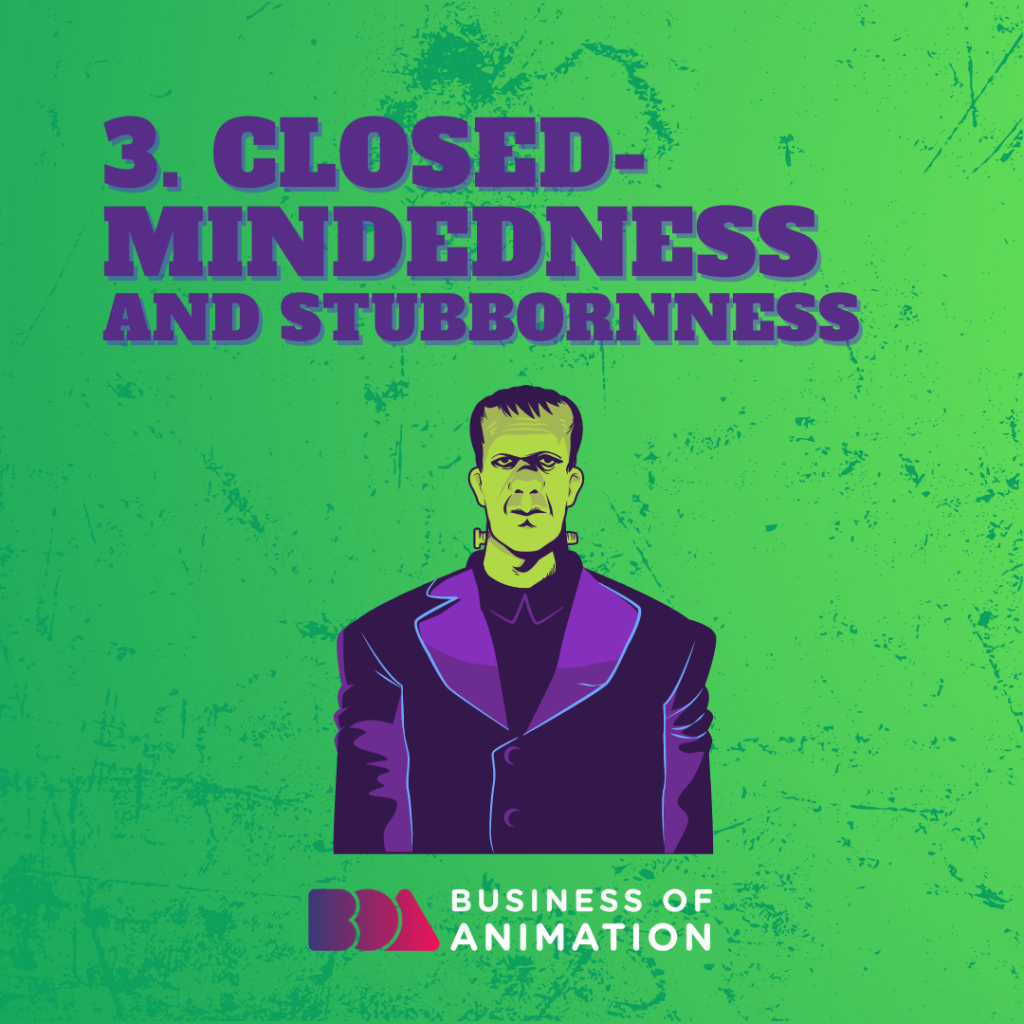 Closed-Mindedness and Stubbornness