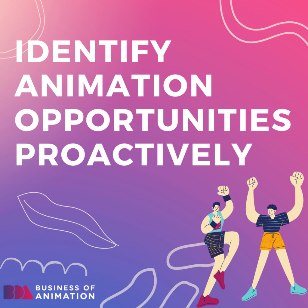 Identify animation opportunities proactively