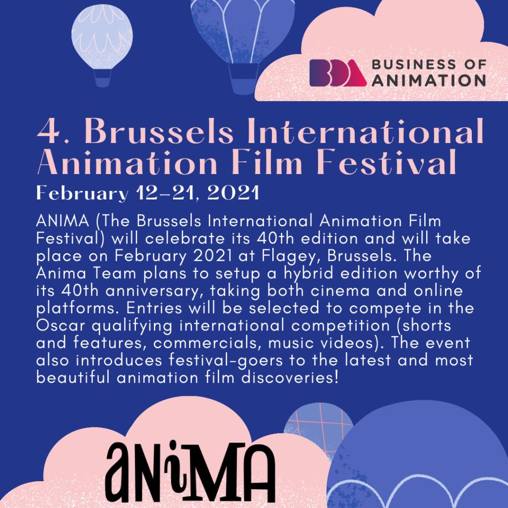 Brussels International Animation Film Festival (February 12-21, 2021)