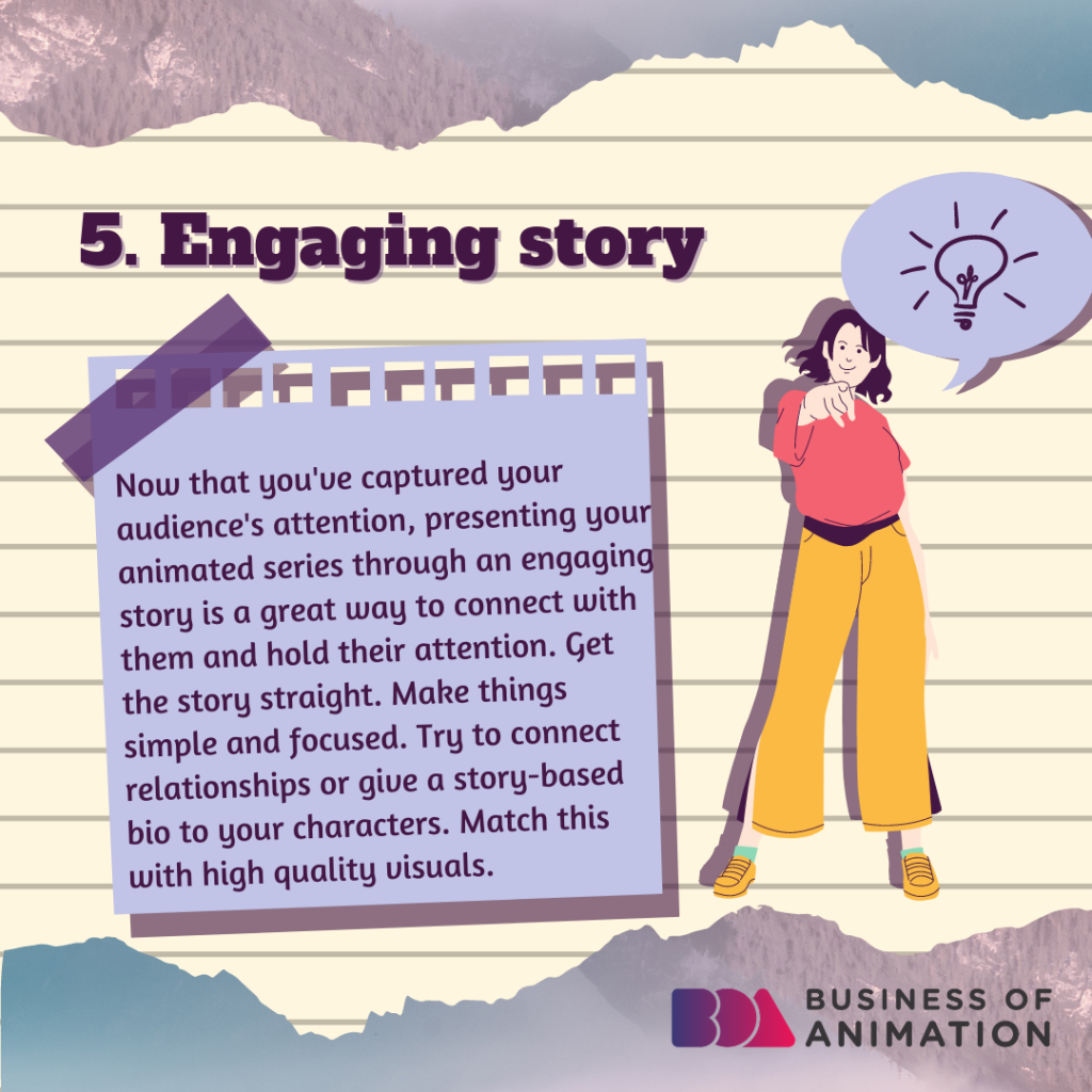 Engaging story