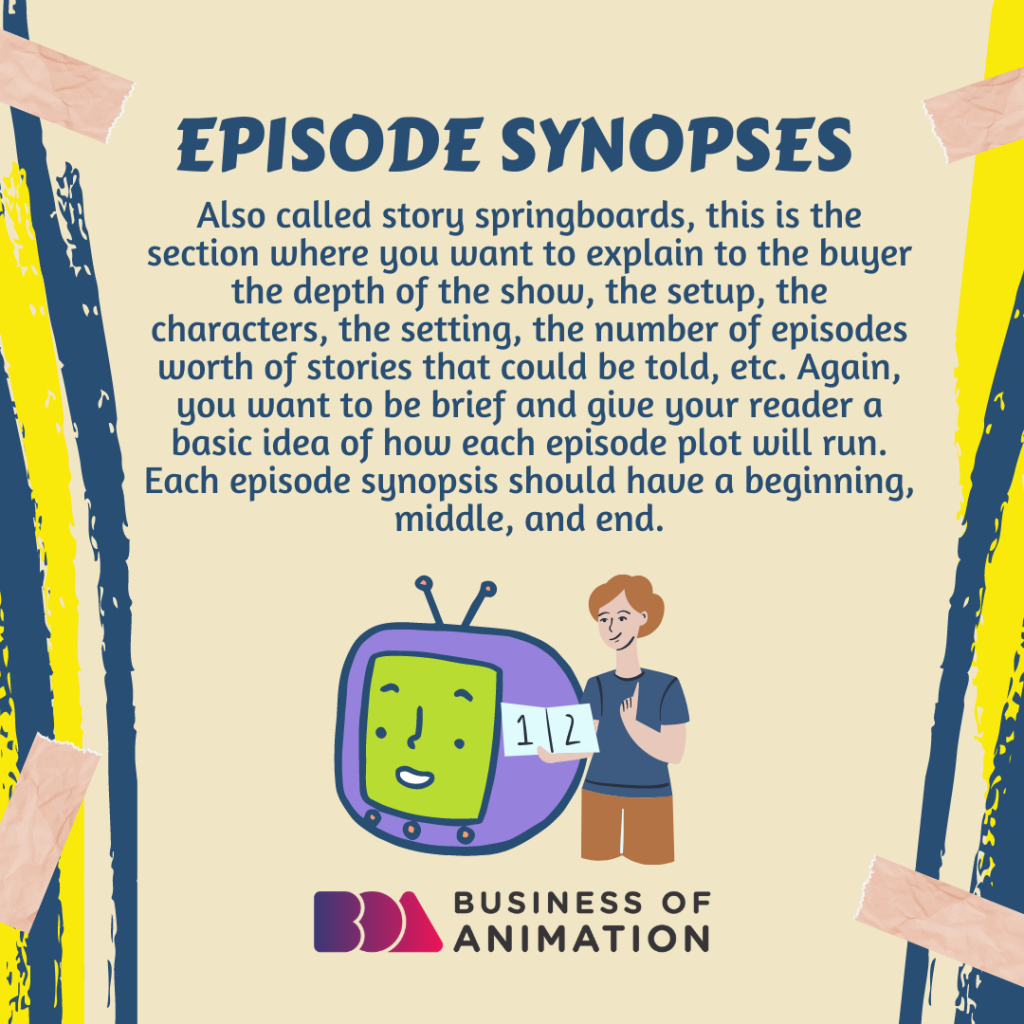 Episode Synopses/Story Springboards