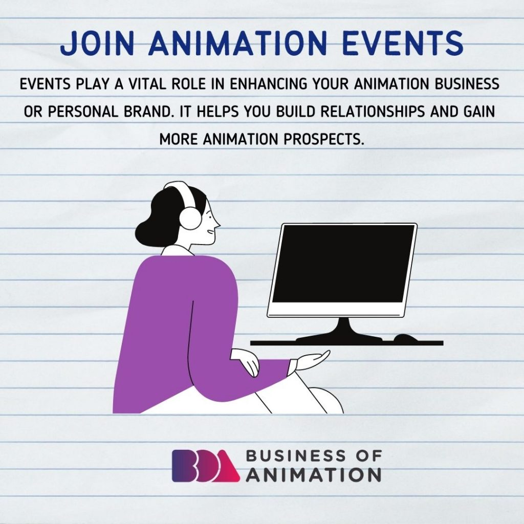 Join Animation Events
