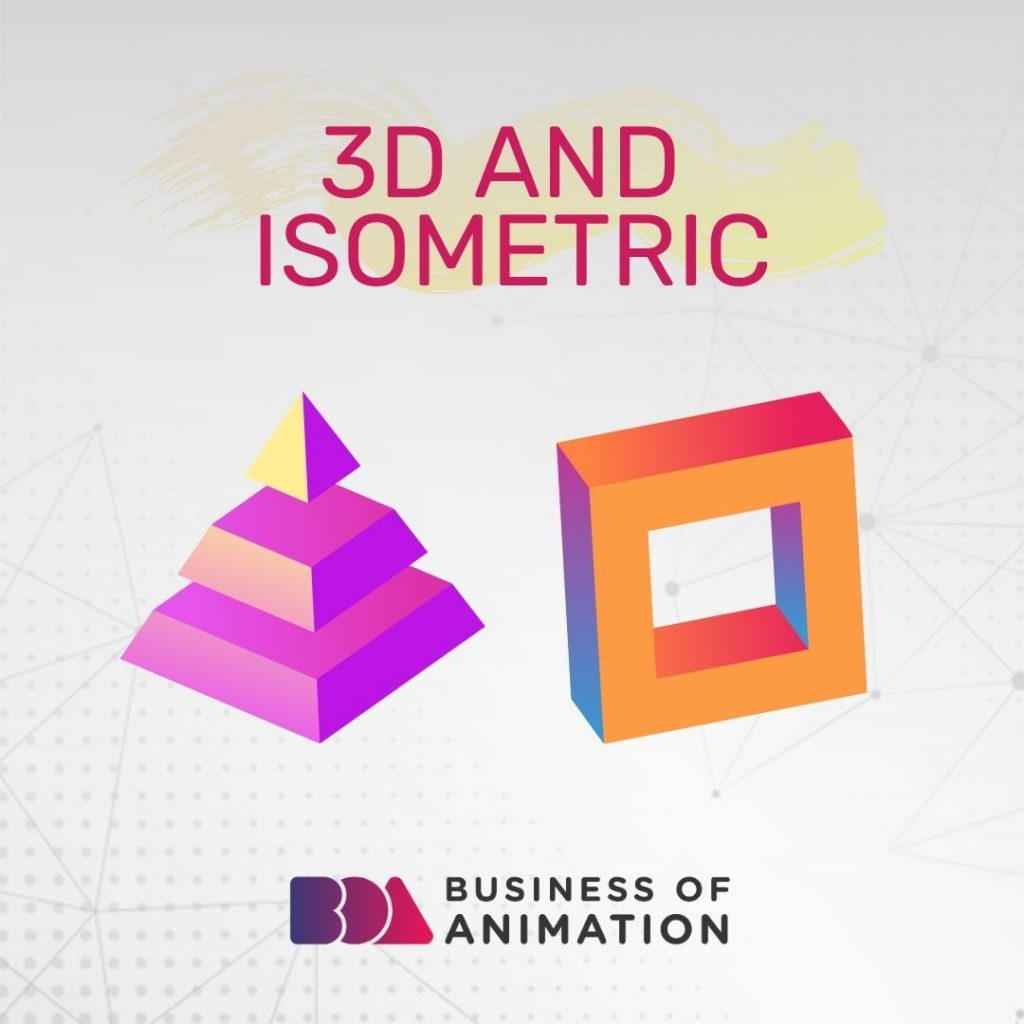 3D and Isometric