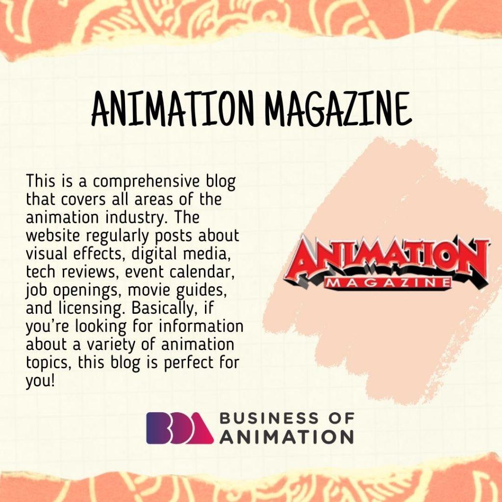 Animation Magazine