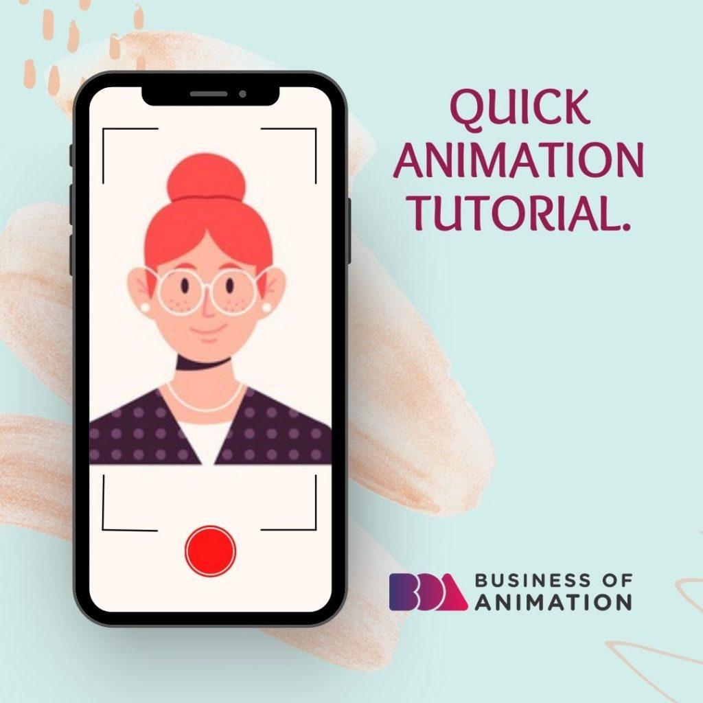 Quick animation tutorial