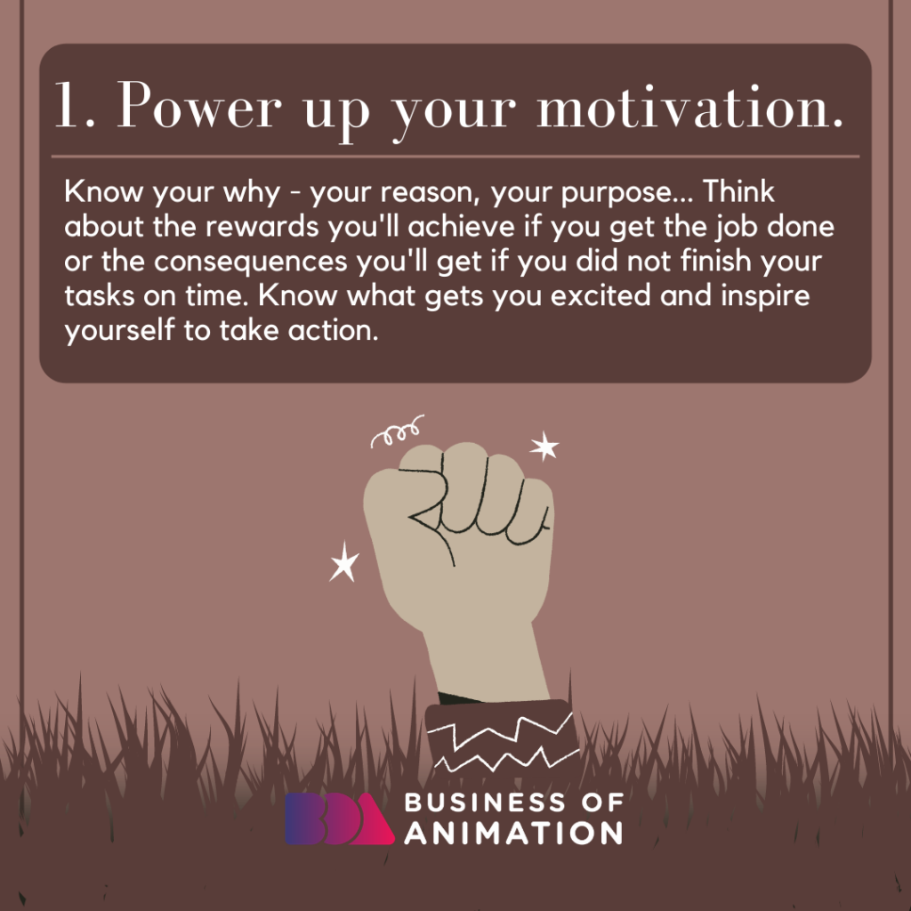 Power up your motivation.