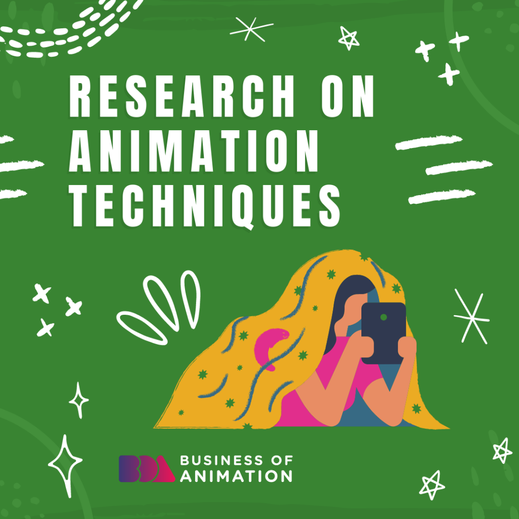 Research on animation techniques