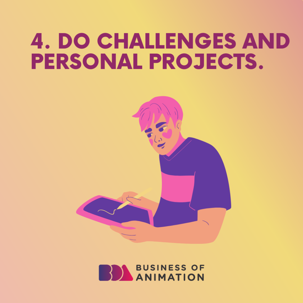 Do challenges and personal projects
